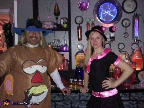 Charlie as Mr. Potayo Head, Mr. & Mrs. Potato Head Costume