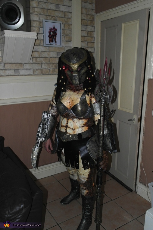 This is my wife susan.Mrs Predator., Mr & Mrs Predator Costume