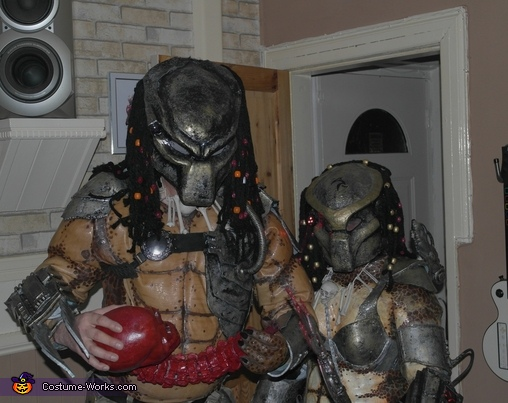 Mr & Mrs Predator Costume