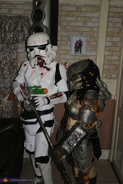 Zombie Trooper invasion.MOVE ALONG!!!, Mr & Mrs Predator Costume