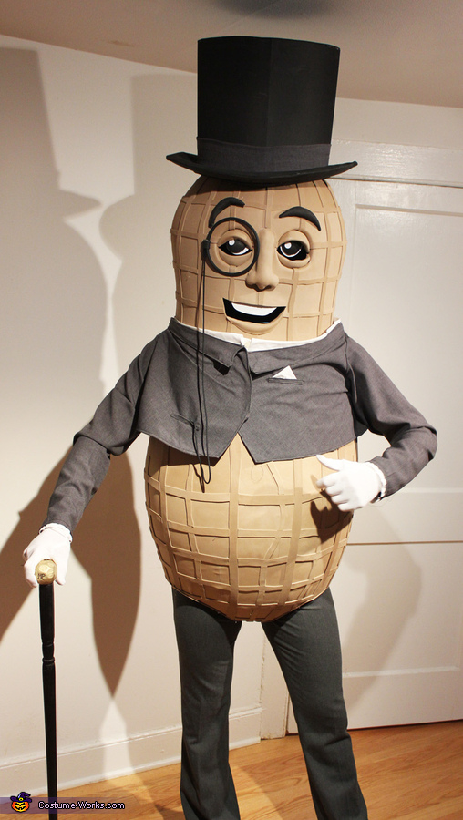 The NEW Mr. Peanut Costume