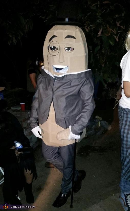 Mr Peanut Costume