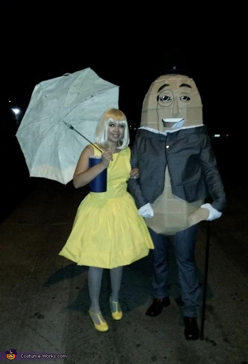 Mr peanut and me salt girl, Mr Peanut Costume