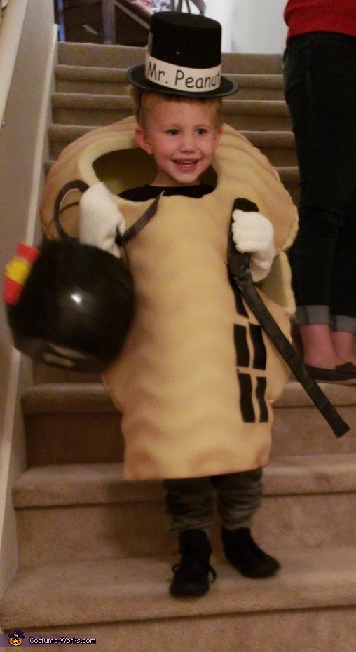 Mr. Planter Peanut Costume