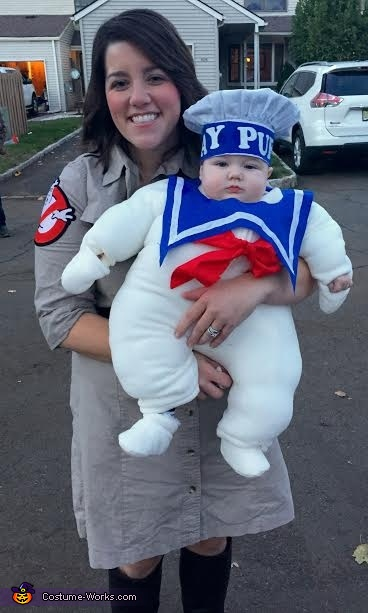 Mrs. Venkman and Mr. Stay Puft, Mr. Stay Puft Costume