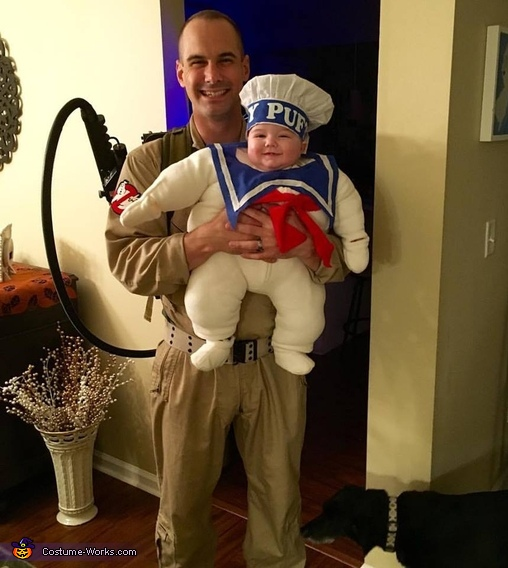 Dr. Venkman and Mr. Stay Puft, Mr. Stay Puft Costume