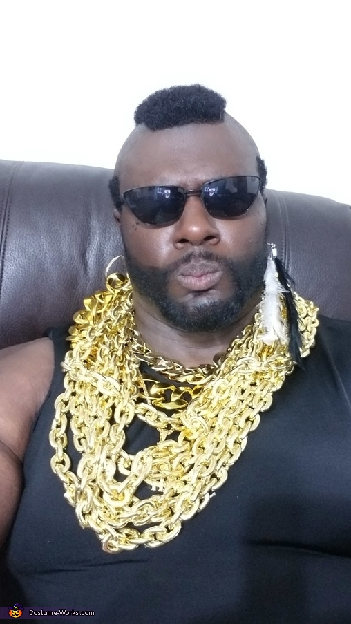 Mr. T Homemade Costume