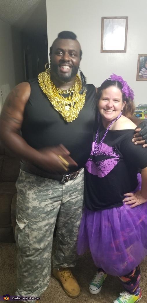 Mr. T Homemade Costume