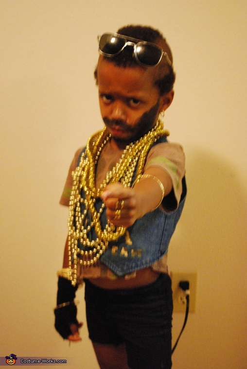 Mr T - Homemade costumes for boys