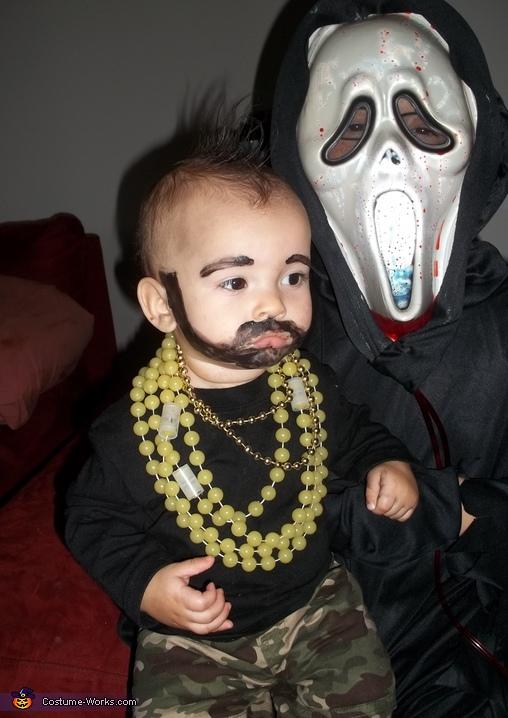 Mr T Baby Costume