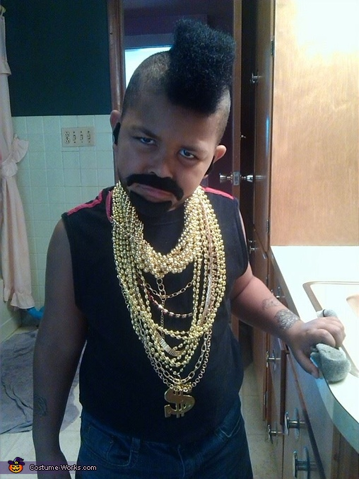 'Do something fool', Mr. T Costume
