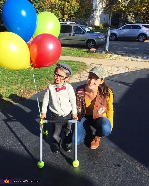 Mr.Fredrickson and Russell Costume
