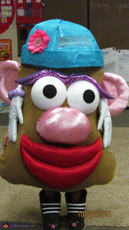 Mrs. Potato Head - Homemade costumes for girls