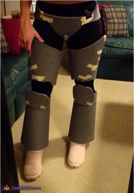 Mrs. Buzz Lightyear Homemade Costume