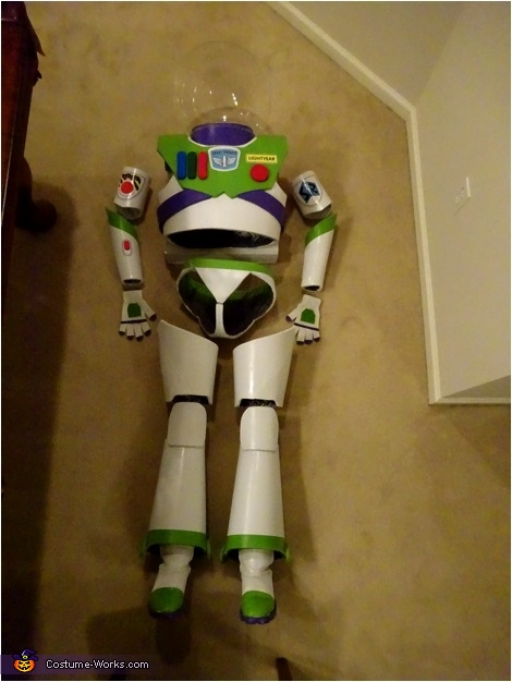 Mrs. Buzz Lightyear Homemade Costume