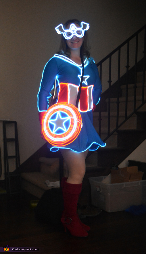 Mrs Captain America Costume