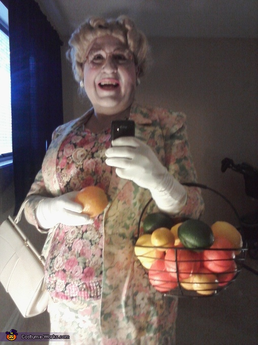 Mrs. Doubtfire It Was a Run by Fruiting Costume