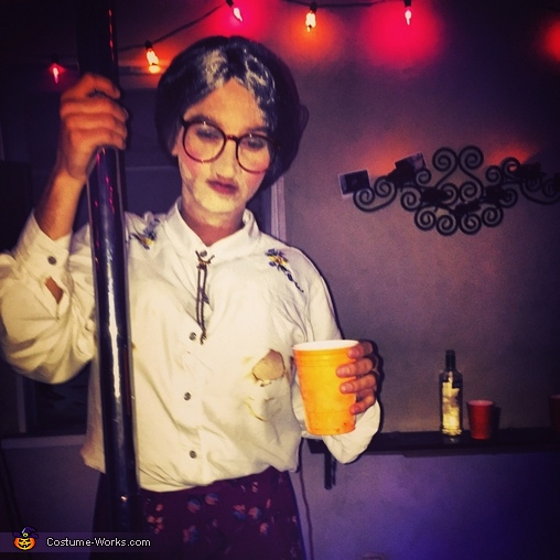 Mrs. Doubtfire Homemade Costume