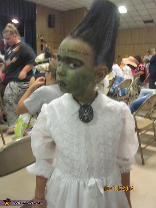 Mrs. Frankenstein Homemade Costume