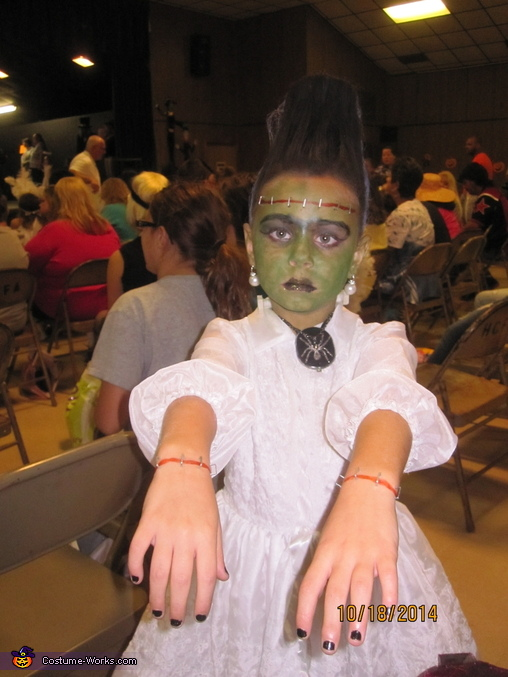 Mrs. Frankenstein Homemade Costume