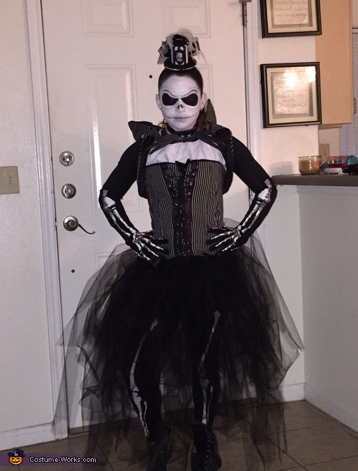 Mrs. Jack Skellington Costume