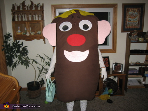 Mrs Potato Head with her other 'normal' look with the other parts, Mrs Potato Head Costume