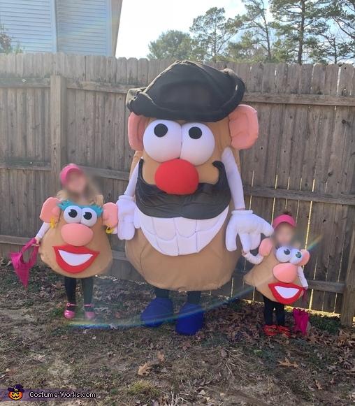 Mrs. Potato Head Homemade Costume