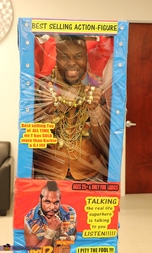 mr.T Toy Costume