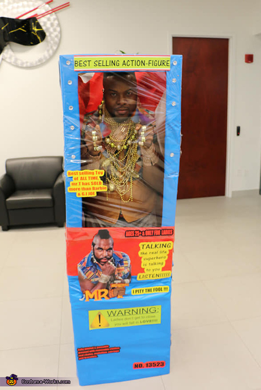 mr.T Toy Homemade Costume