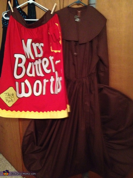 Ms. Butterworth Homemade Costume