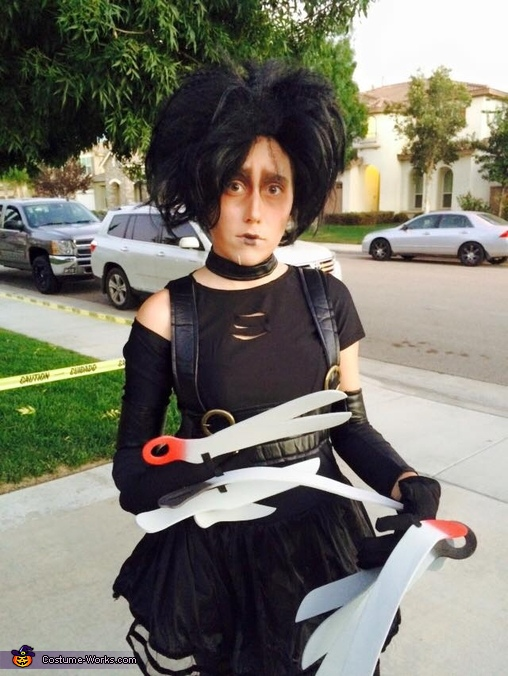 Ms. Edward Scissorhands Costume