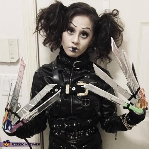 Ms.  Edward Scissorhands, Ms. Edward Scissorhands Costume