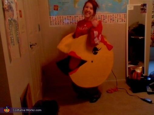 DIY Ms. Pacman Costume