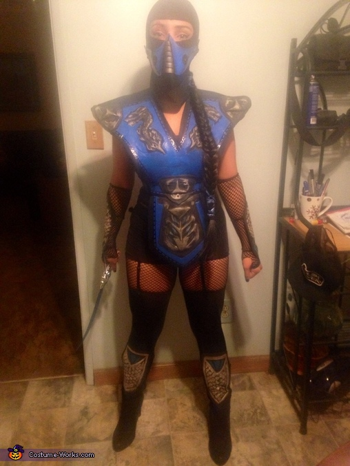 Mortal Kombat Ms. Subzero Costume