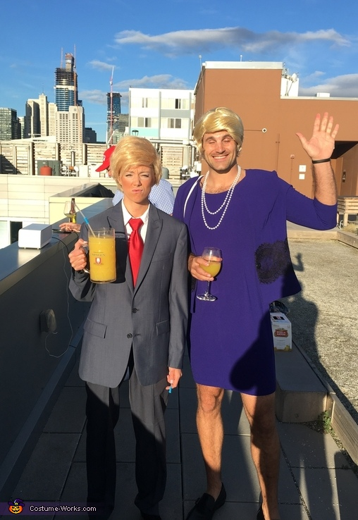 Ms. Trump & Mr. Hilary Costume