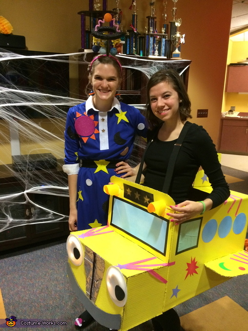 Ms.Frizzle and The Magic School Bus Costume