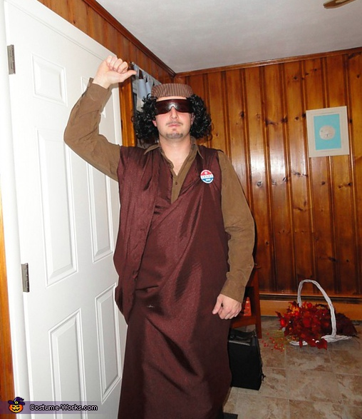 Muammar Gaddafi Costume