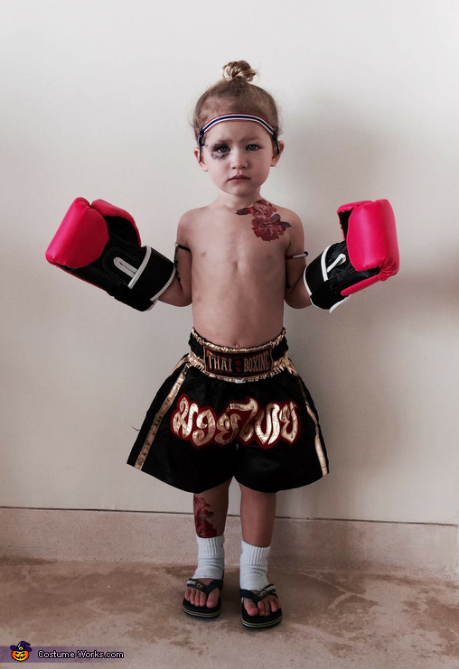 Muay Thai Boxer Costume
