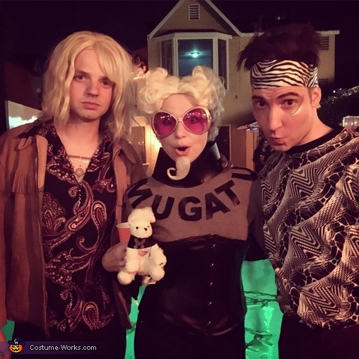 Zoolander Group Costume - It's a walk off!, Mugatu Costume