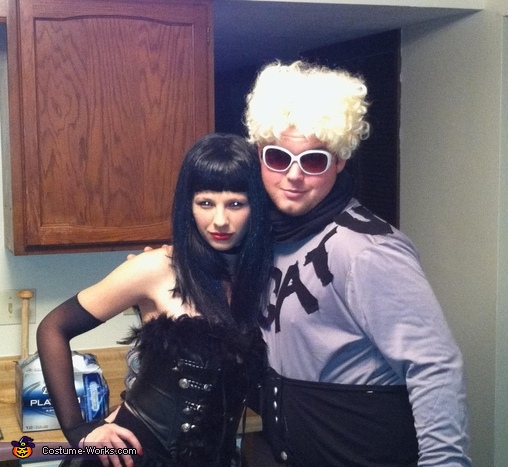 Mugatu and Katinka from Zoolander Costume