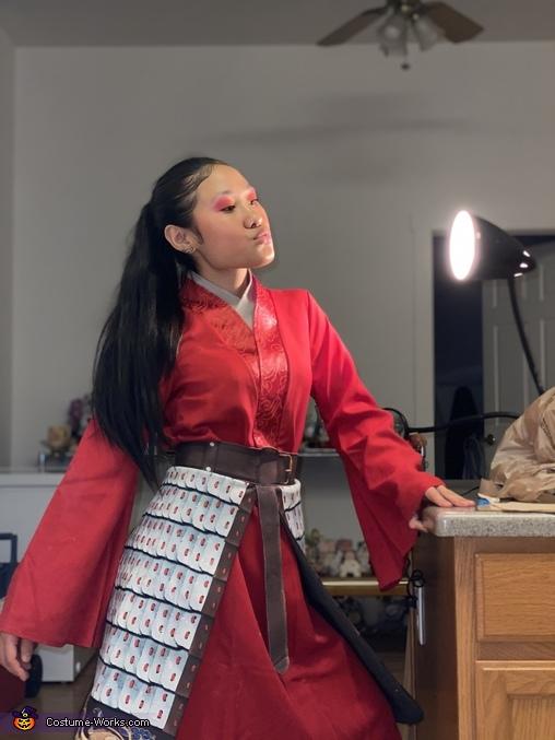 Mulan Homemade Costume