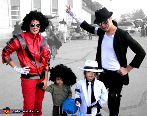 Multi-Staged Michael Jackson - Homemade costumes for families