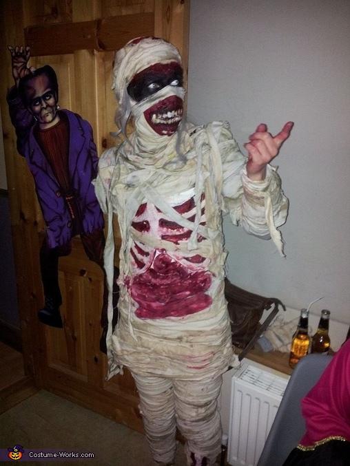 Mummified Costume