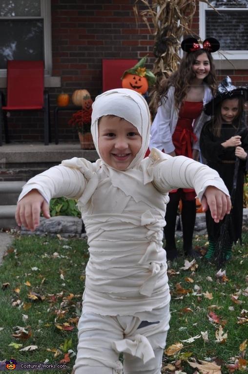 Mummy Boy Costume