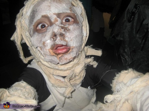 Mummy face, Mummy Costume
