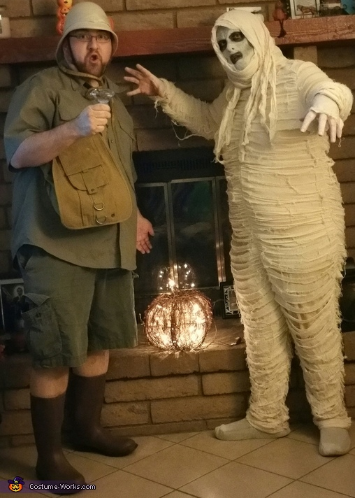 Mummy and Archeologist Costume