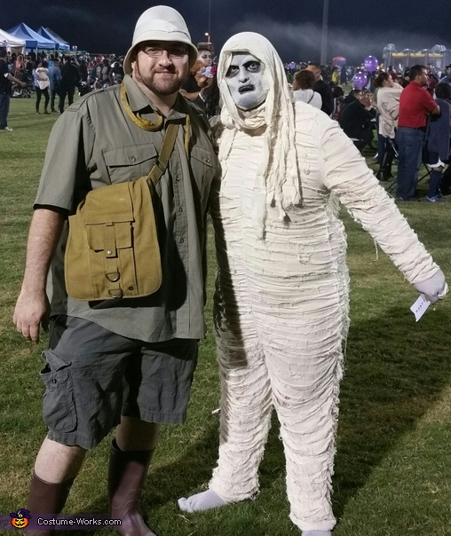 Mummy and Archeologist, Mummy and Archeologist Costume