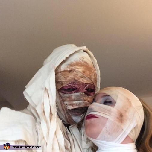 Mummy Love Couple Homemade Costume