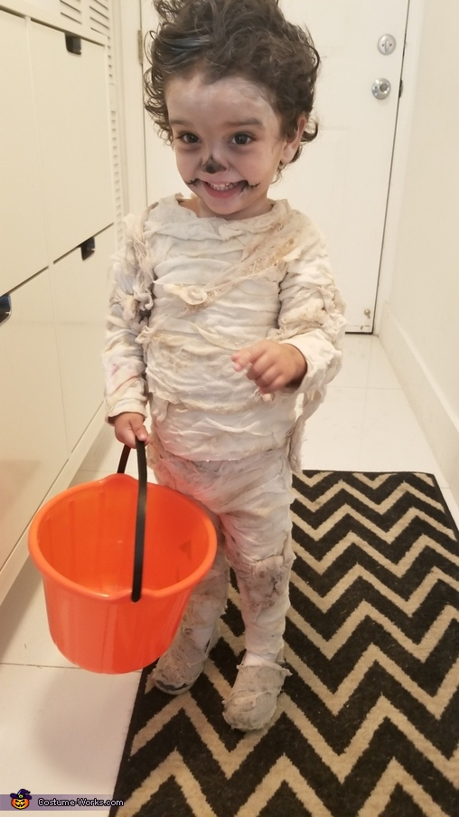Mummy Momia Homemade Costume