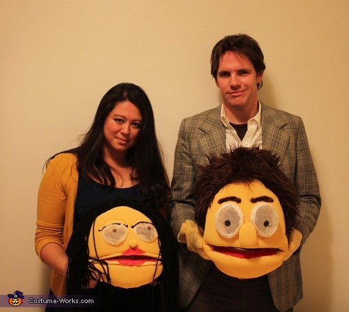 Such likeness!, Muppet Couple Costume